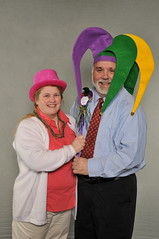 an alumni couple at Cabrini College's Sweetheart Dance