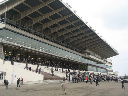 金沢競馬場の09年の風景