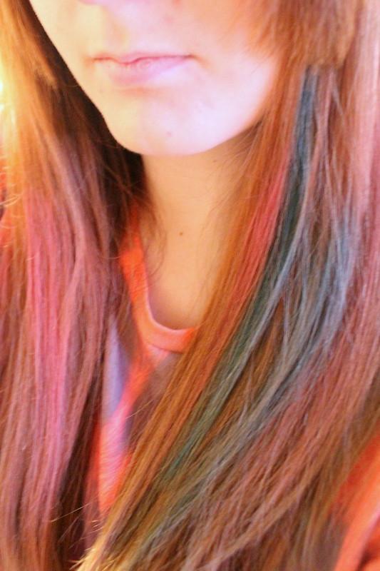 Body Shop hair chalks review