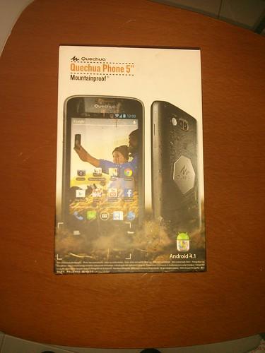 Smartphone para montaña: Quechua Phone 5