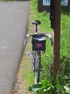 I [heart]ed my bike