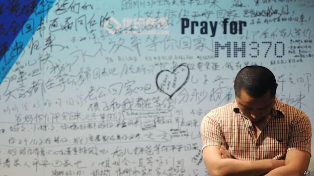 Foto: AFP ; Paradeiro do voo MH370 da Malaysia Airlines, com 239 pessoas a bordo, ainda é desconhecido