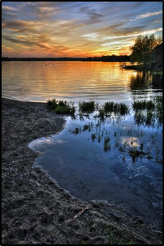 sunset lake water hdr lakeville photomatix hdrsoft elements9 lightroom5 cb1956