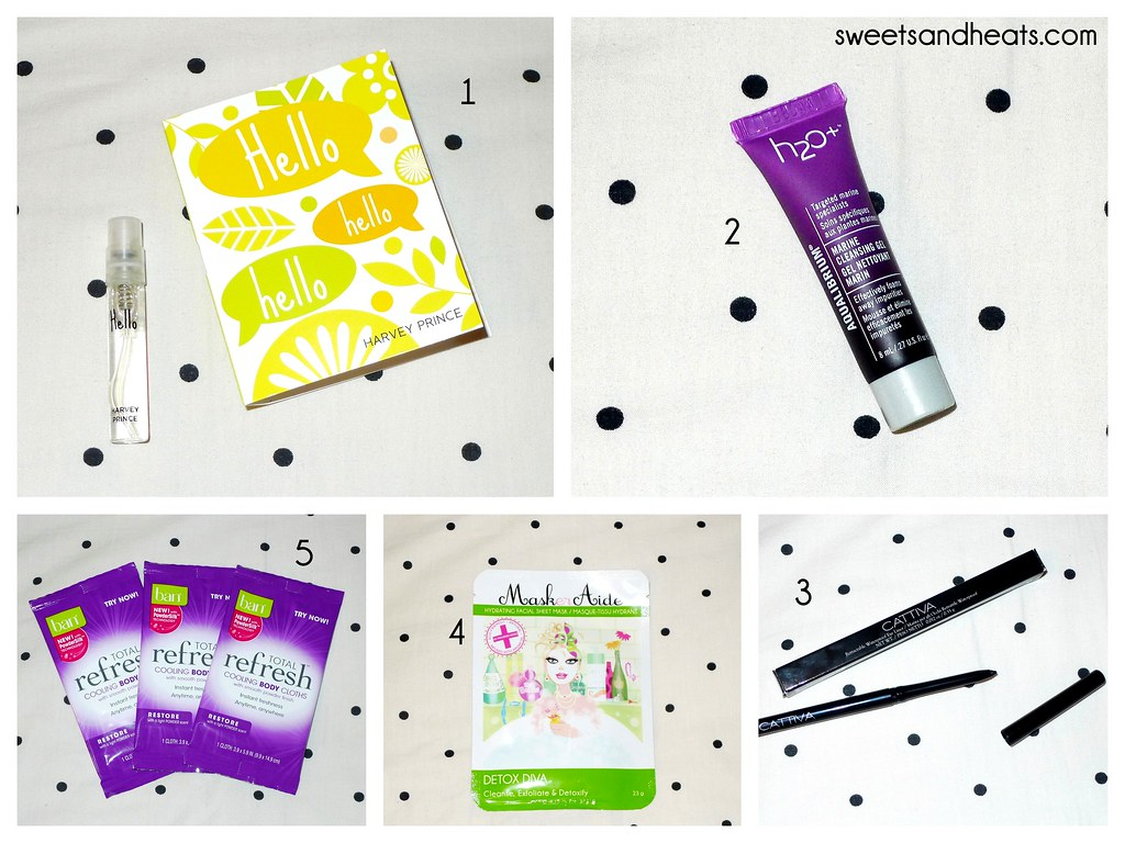 Beauty Box 5 May 2014 Review & Un-Boxing, featuring Maskeraide, H2O Plus, Ban, Harvey Prince, and Cattiva