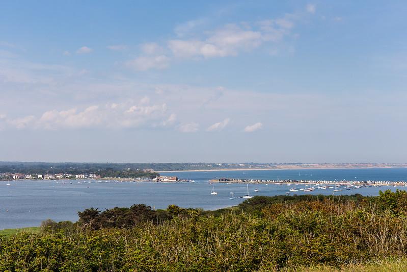View towards Mudeford