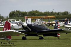 G-DUDE VAN'S RV-8 PFA 303-13246 PRIVATE -Sywell-20130601-Alan Gray-IMG_9089