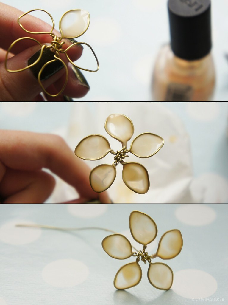 pintest nail polish flowers pinterest diy