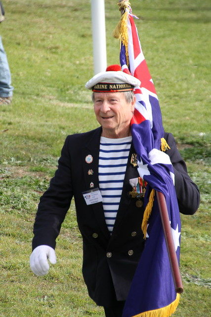 Marine nationale - Bastille day at La Perouse