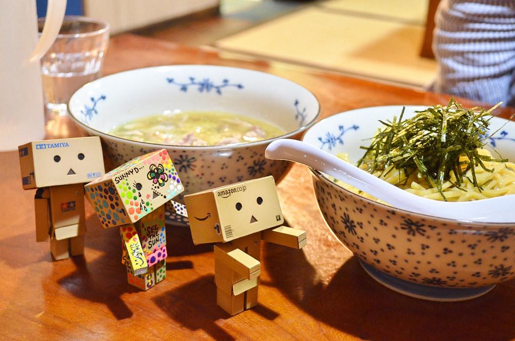 かしわつけ麺。 (6)