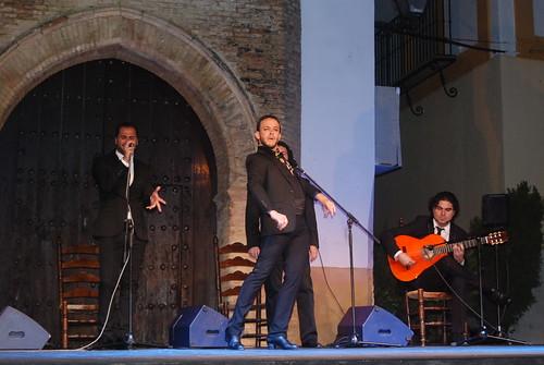 AionSur 14470699782_76753570ee_d La voz de 'Macanita' y el baile de Manuel Liñán templan con brillantez el fresco de la quinta noche de Al gurugú Flamenco
