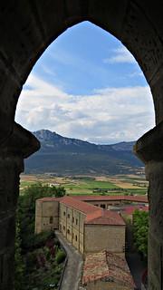 View from Santa Maria De Los Reyes: La Torre Abacial, Laguardia