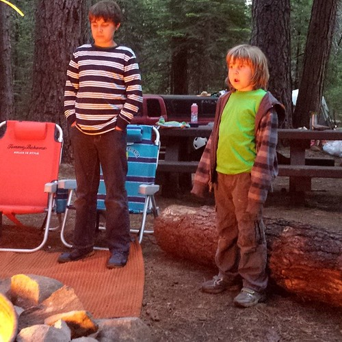 #camping #summer #boys #nature #woods