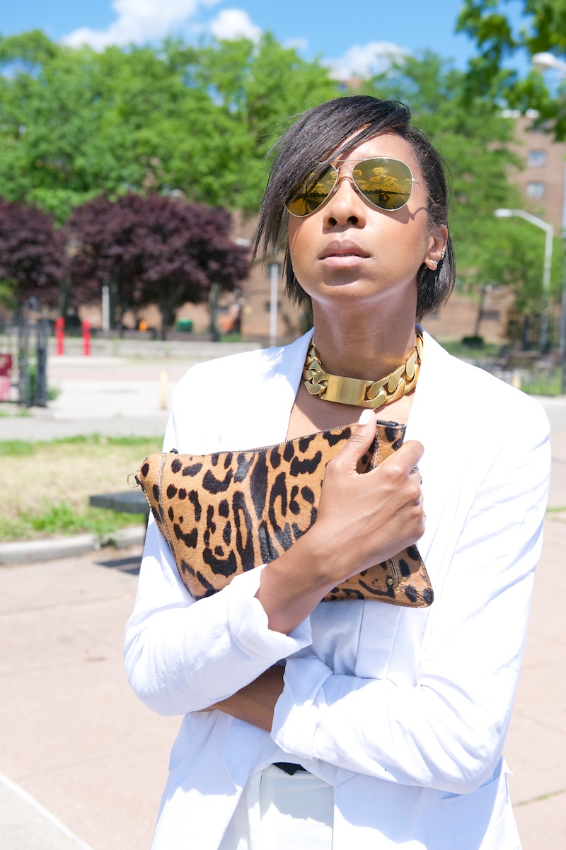 jerome dreyfuss leopard print bag