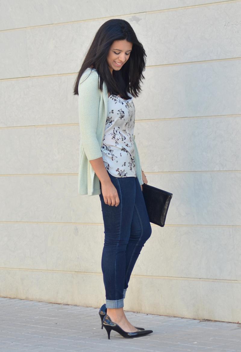 florenciablog working girl mint inspiration fashion blogger spain clutch zara look  (6)