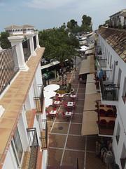 Avda de Mejico, Mijas - cafe below