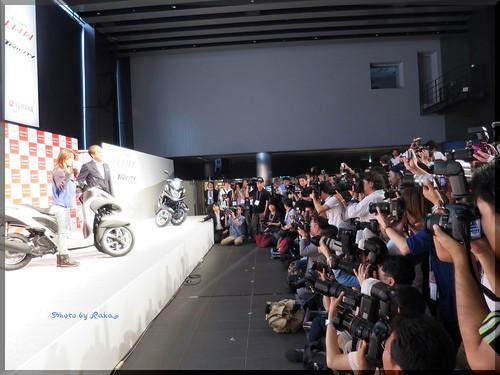 Photo:2014-07-01_T@ka.'s Life Log Book_【Event】大島優子さんがゲスト!ヤマハ発動機 先進的3輪バイクTRICITY発表会-09 By:logtaka