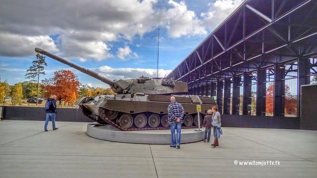 Leopard 1 V Tank, Nationaal Militair Museum, Soesterberg, Netherlands - 3963