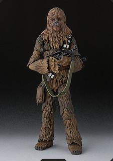 S.H.Figuarts【丘巴卡】星際大戰四部曲:曙光乍現 Chewbacca