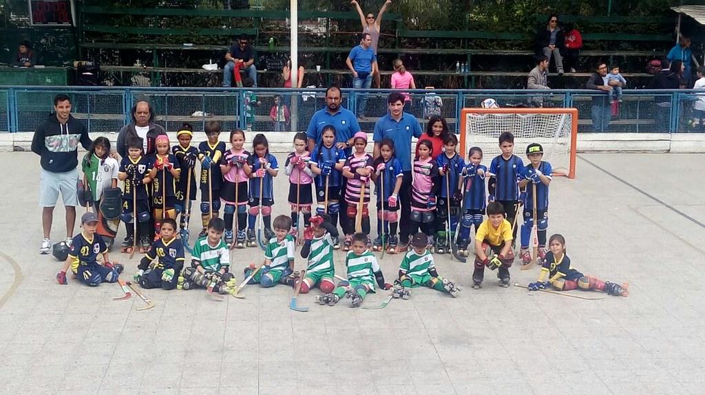 Gran experiencia vivió la Escuelita del Hockey Patín acerero