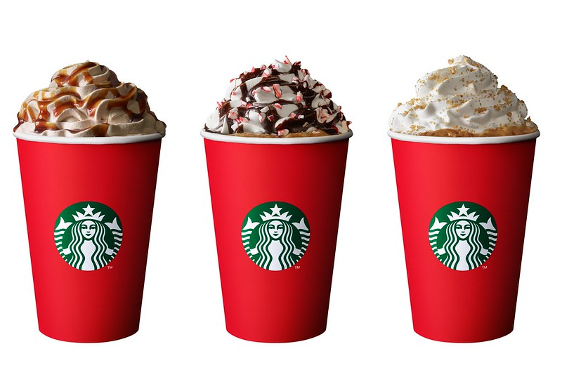 starbucks toffee nut latte is back plus festive drinks christmas blend coffee food and merchandise