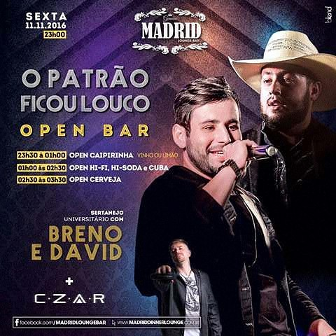 Perai!!! Eles disseram que é Open Bar????   #madrid #Friday #djczar #housemusic #Dj #openbar