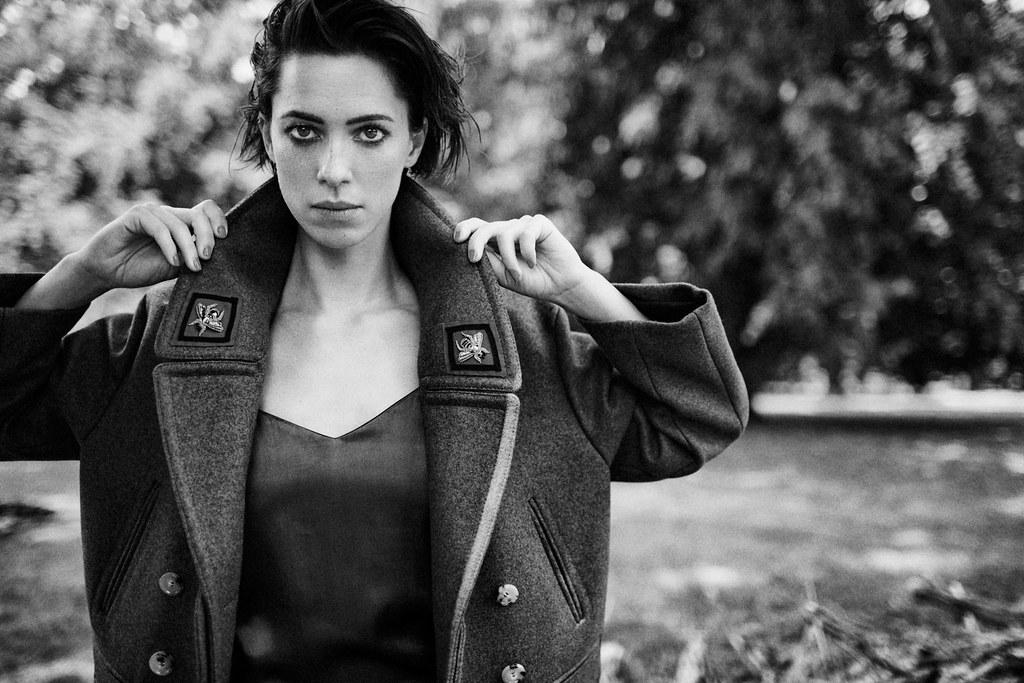 Ребекка Холл — Фотосессия для «The Edit» 2016 – 4