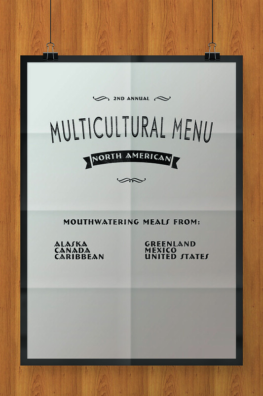 Multicultural Menu North America