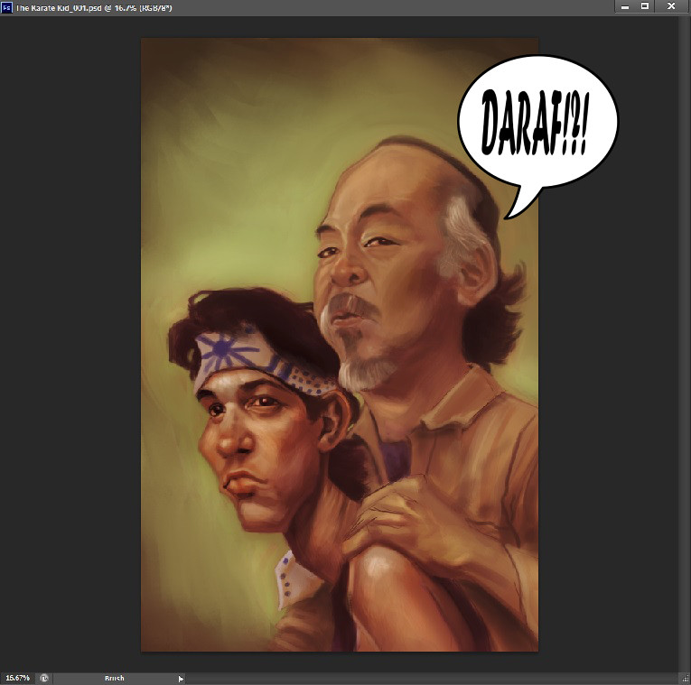 The Karate Kid_WIP