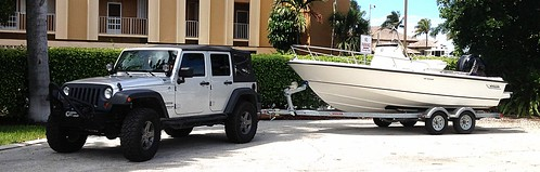My New JKU Rubicon With 4.10 Gears And Stock Tires Not To Mention The 3.6  Engine Tows My Boat Much Better. This One Did Come With The Max Tow Package  Which ...