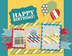 Three Click Birthday Card