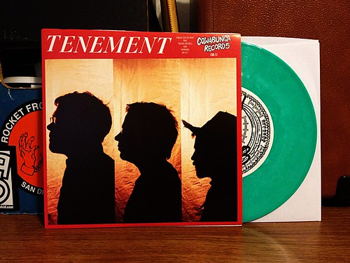 "Tenement - Freak Cast In Iron 7"" - Green Vinyl (/100) by Tim PopKid"