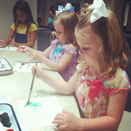 Art museum fun with my little painters