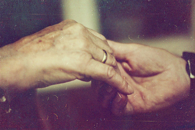Old hands, young love