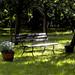 Eine Pause im Gutspark