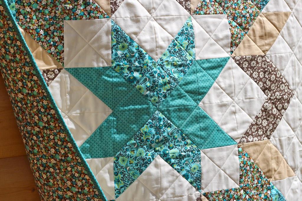 Designer Star Baby Quilt