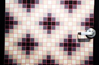 Arte abstracto en el baño (II)