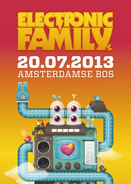 cyberfactory 2013 electronic family trance festival amsterdamse bos nederland