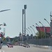 The field prepares for the standing start in Race 1 of the Honda Indy Toronto