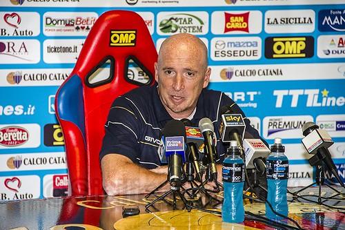 """Catania, Maran: """"Crediamo nella salvezza al 200%""""$"""