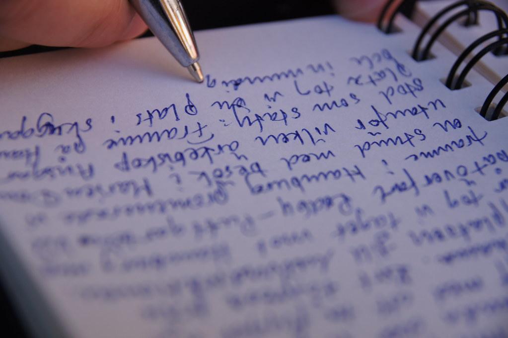 diary writing