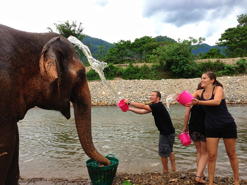 Elephant Nature Park in Chiang Mai, Thailand