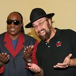 Stevie Wonder and Shotgun Tom