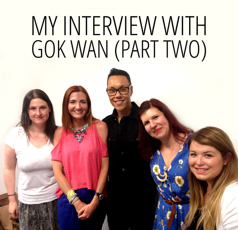 Interview with Gok Wan - UK bloggers