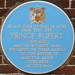 Photo of Rupert blue plaque
