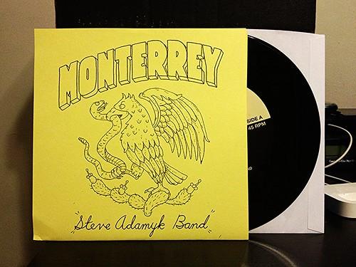 """Steve Adamyk Band - Monterrey 7"""" by Tim PopKid"""