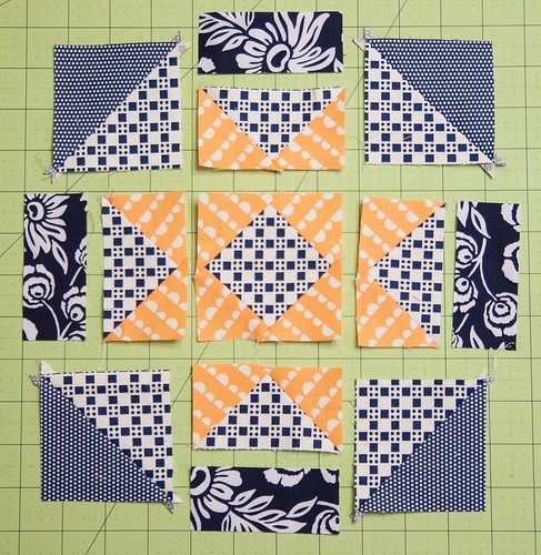 Virtual Quilting Bee Block Tutorial