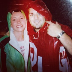 2003 OU north Texas in the rain!