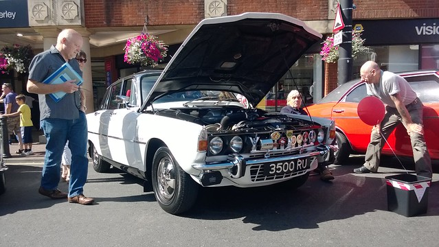 Camberley Car Show Authorised Event Parking