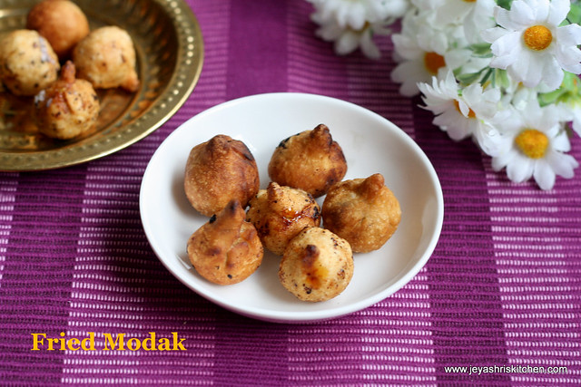 Fried-modak