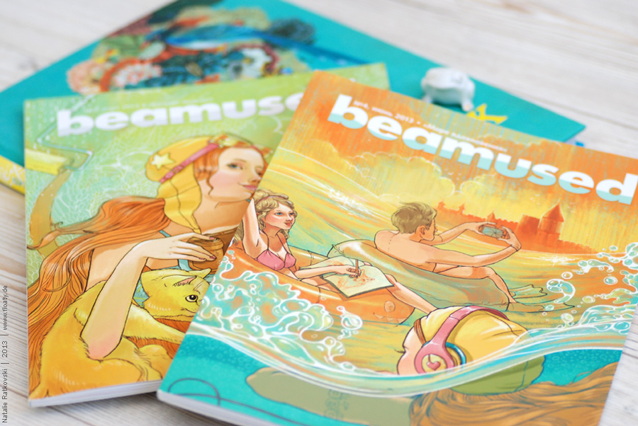 My cover illustrations for Beamused